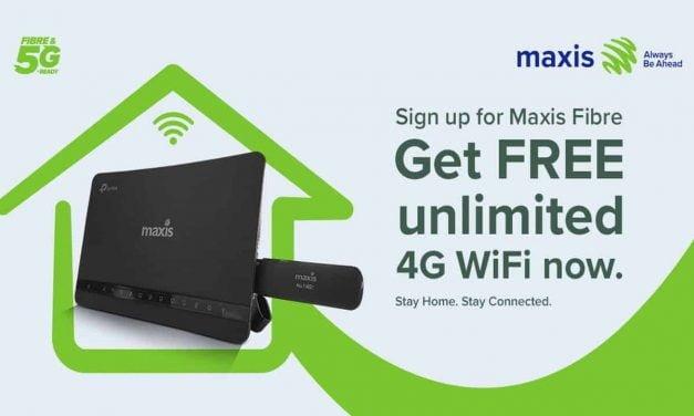 Senarai Pakej Unlimited Hotspot dan Unlimited Wifi