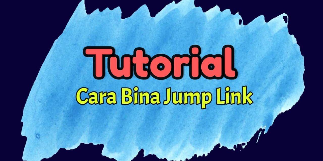 Cara Buat Jump Link Dalam Page