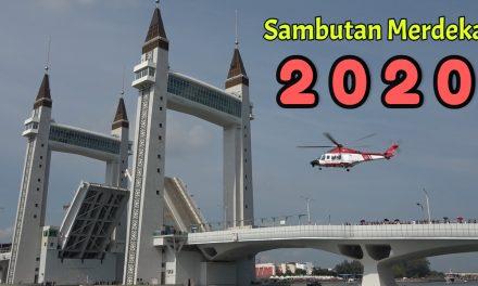 Sambutan Hari Merdeka 2020   Terengganu Drawbridge