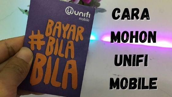 cara mohon unifi mobile