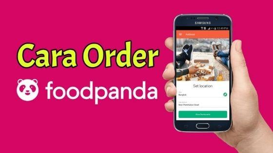 cara order foodpanda