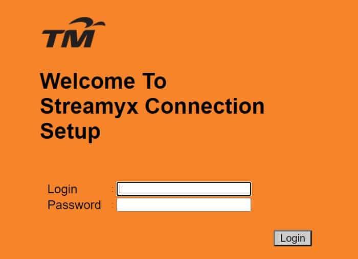 login masuk ke admin untuk tukar password unifi