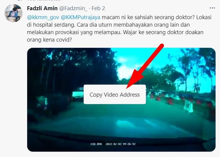 cara save video dari twitter