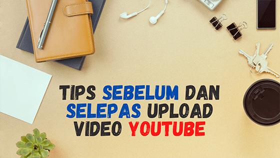 upload video di YouTube