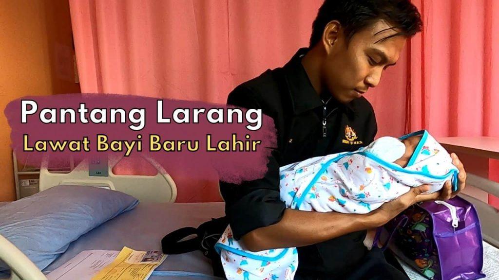 melawat bayi baru lahir