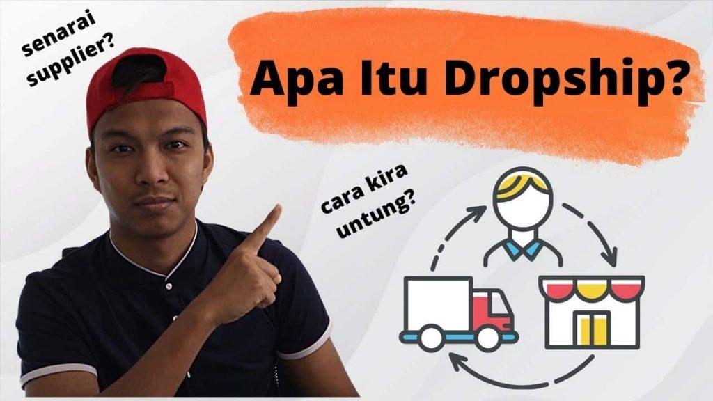 apa itu dropship,apa maksud dropship