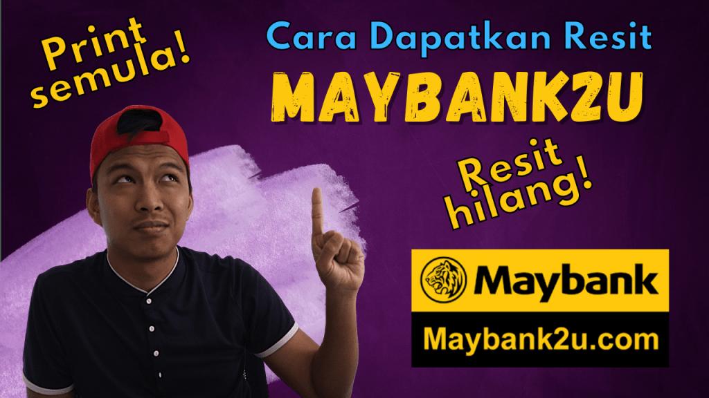 resit maybank